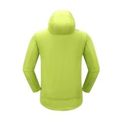 PINEA Herren Sommer Softshell Jacke KAI Farbe LIME Größe 3XL
