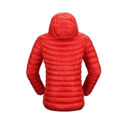 PINEA Damen Daunen Jacke NELLI Farbe ROT-ORANGE Größe 42