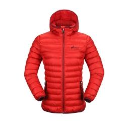 PINEA Damen Daunen Jacke NELLI Farbe ROT-ORANGE Größe 44