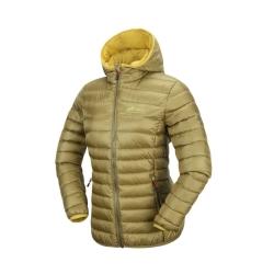 PINEA Damen Daunen Jacke NELLI Farbe OLIVGRÜN Größe 36
