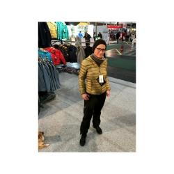 PINEA Damen Daunen Jacke NELLI Farbe OLIVGRÜN Größe 44