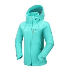 PINEA Damen Outdoor Jacke ALISA Farbe TÜRKIS Größe 52