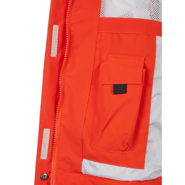 PINEA Damen Outdoor Jacke ALISA Farbe ROT-ORANGE