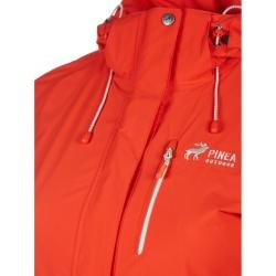 PINEA Damen Outdoor Jacke ALISA Farbe ROT-ORANGE Größe 48