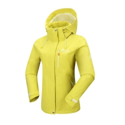 PINEA Damen Outdoor Jacke ALISA Farbe CITRON