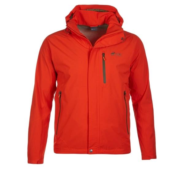 52c939d514bc3b PINEA Herren Outdoor Jacke JIMI Farbe ROT-ORANGE in verschiedenen Größen ...