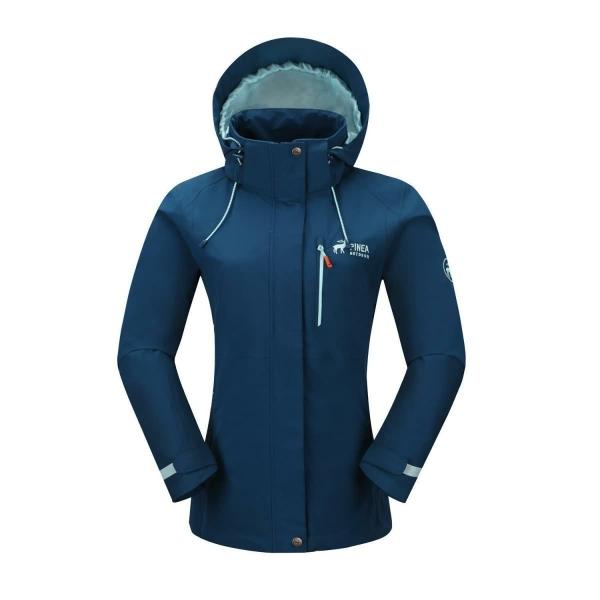 PINEA Damen Outdoor Jacke ALISA Farbe DUNKELBLAU Größe 46