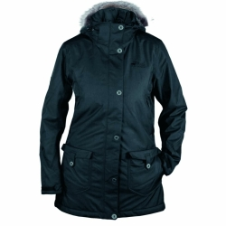 PINEA Damen Mantel HANNA BLACK