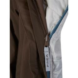 PINEA Herren 5in1 Jacke RISTO Farbe BRAUN Größe XXL