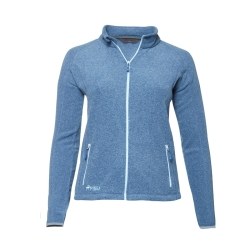 PINEA Damen Fleece Jacke VENLA Farbe STELLAR BLUE