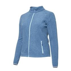 PINEA Damen Fleece Jacke VENLA Farbe STELLAR BLUE