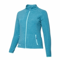 PINEA Damen Fleece Jacke VENLA Farbe CHRYSTAL TEAL