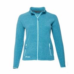 PINEA Damen Fleece Jacke VENLA Farbe CHRYSTAL TEAL Größe 40