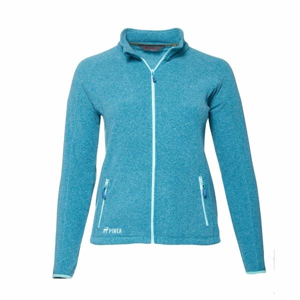 PINEA Damen Fleece Jacke VENLA Farbe CHRYSTAL TEAL Größe 48