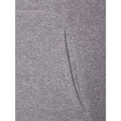 PINEA Unisex Fleece Hoodie RAMI Farbe HEATHER GREY