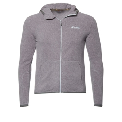 PINEA Unisex Fleece Hoodie RAMI Farbe HEATHER GREY in...