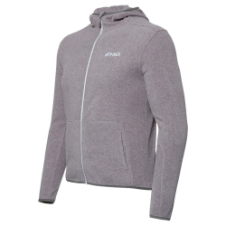 PINEA Unisex Fleece Hoodie RAMI Farbe HEATHER GREY Größe XL