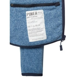 PINEA Unisex Fleece Hoodie RAMI Farbe STELLAR BLUE Größe L
