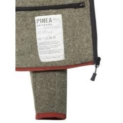 PINEA Unisex Fleece Hoodie RAMI Farbe BELUGA GREEN