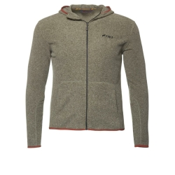PINEA Unisex Fleece Hoodie RAMI Farbe BELUGA GREEN in...