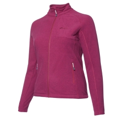 PINEA Damen Fleece Jacke PEPPI Farbe BOYSENBERRY