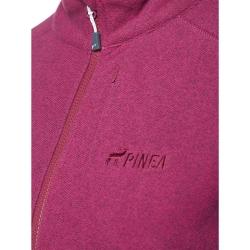 PINEA Damen Fleece Jacke PEPPI Farbe BOYSENBERRY