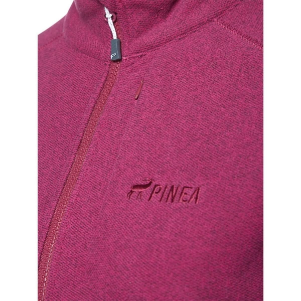PINEA Damen Fleece Jacke PEPPI Farbe BOYSENBERRY in Größe 38