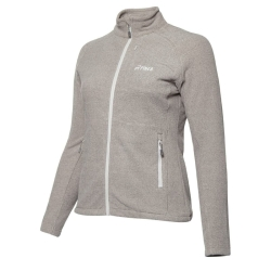 PINEA Damen Fleece Jacke PEPPI Farbe PALOMA GREY