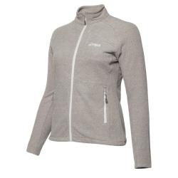 PINEA Damen Fleece Jacke PEPPI Farbe PALOMA GREY