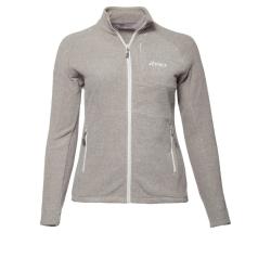 PINEA Damen Fleece Jacke PEPPI Farbe PALOMA GREY...
