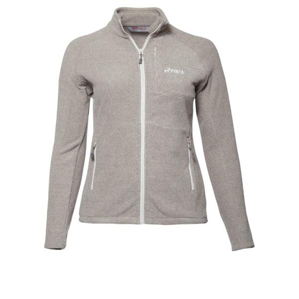 PINEA Damen Fleece Jacke PEPPI Farbe PALOMA GREY Größe 48