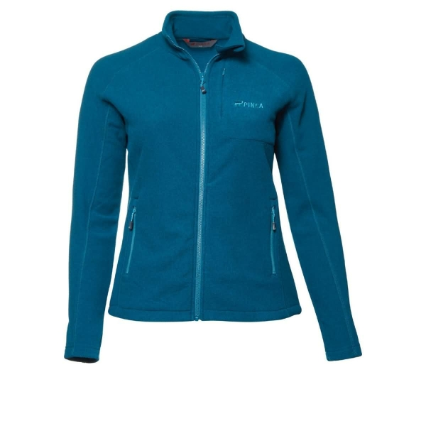 PINEA Damen Fleece Jacke PEPPI Farbe CRYSTAL TEAL Größe 44