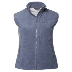 PINEA Damen Windblocker Weste SALLA CARBON GREY