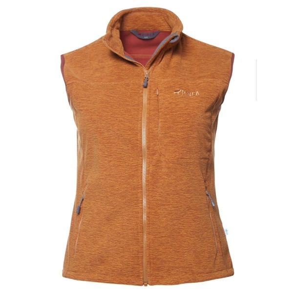 PINEA Damen Windblocker Weste SALLA MADDER BROWN