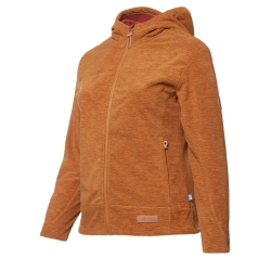 PINEA Damen Windblocker Jacke AIRA Farbe MADDER BROWN