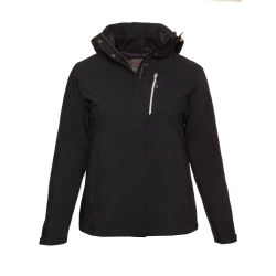 PINEA Damen 5in1 Jacke NINNI Farbe BLACK Größe 38