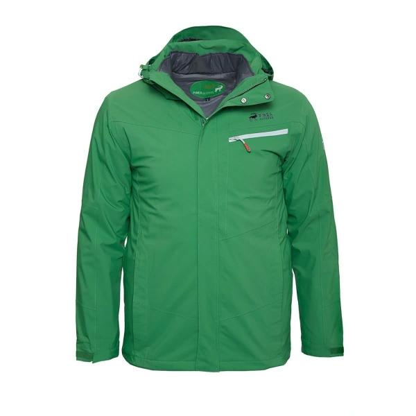 PINEA Herren 5in1 Jacke RISTO Farbe JUPITER GREEN