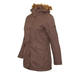 PINEA Damen Mantel PILVI Farbe RAVEN-BROWN