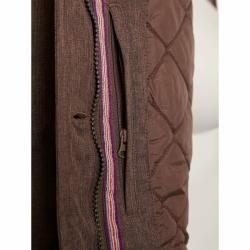 PINEA Damen Mantel PILVI Farbe RAVEN-BROWN