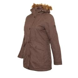PINEA Damen Mantel PILVI Farbe RAVEN-BROWN Größe 34