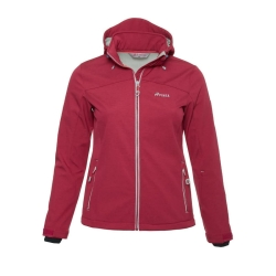PINEA Damen Softshell Jacke LUMI Farbe BRIGHT ROSE