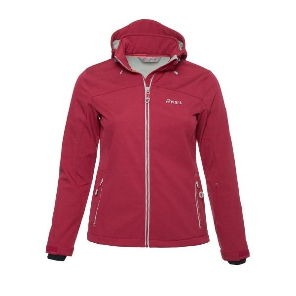 PINEA Damen Softshell Jacke LUMI Farbe ROSA Größe 40
