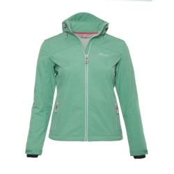 PINEA Damen Softshell Jacke LUMI Farbe DUSTY GREEN Größe 36