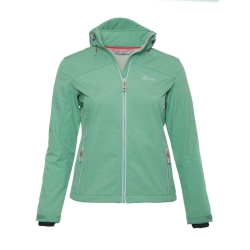 PINEA Damen Softshell Jacke LUMI Farbe DUSTY GREEN in...