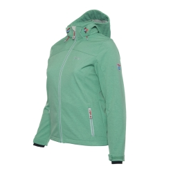 PINEA Damen Softshell Jacke LUMI Farbe DUSTY GREEN Größe 42