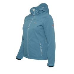 PINEA Damen Softshell Jacke LUMI Farbe BLUE SHADOW
