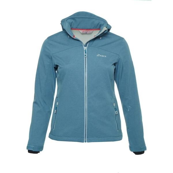 PINEA Damen Softshell Jacke LUMI Farbe BLUE SHADOW Größe 44