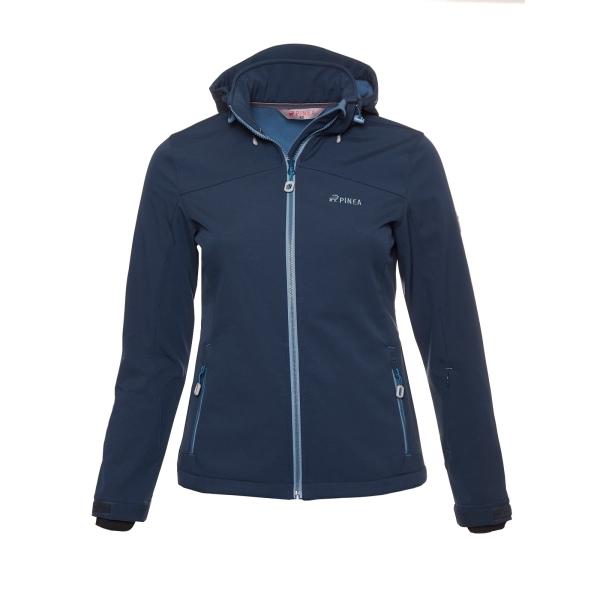PINEA Damen Softshell Jacke LUMI Farbe MOONLITE Größe 38