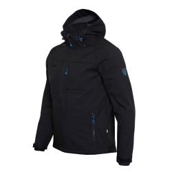 PINEA Herren Softshell Jacke SULO Farbe BLACK