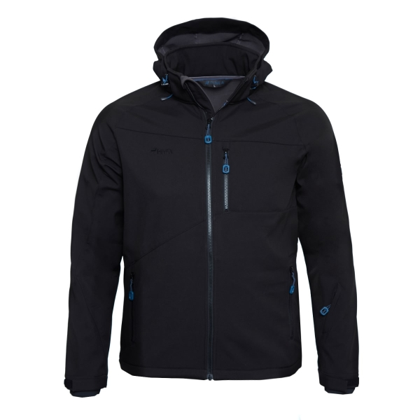 PINEA Herren Softshell Jacke SULO Farbe BLACK Größe S
